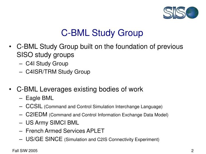 C bml study group