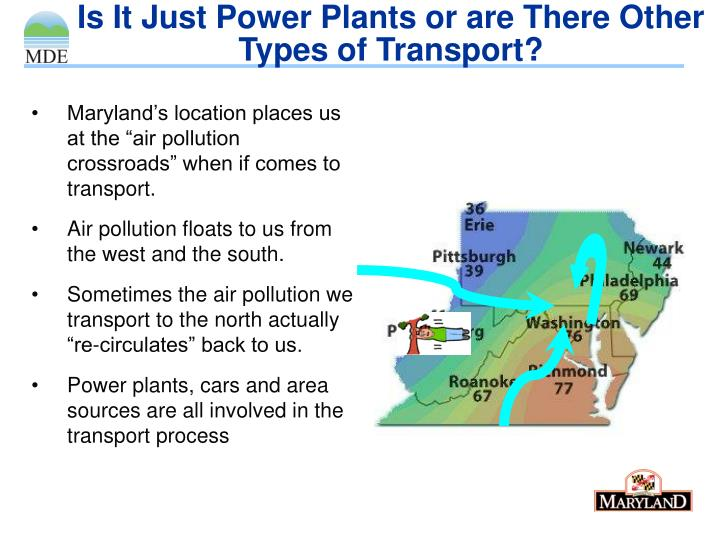 Is It Just Power Plants or are There Other Types of Transport?