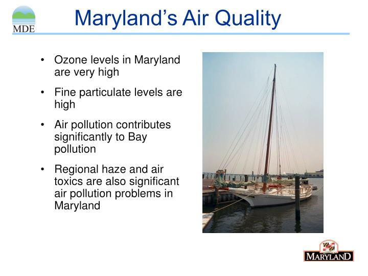 Maryland s air quality