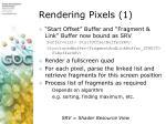 rendering pixels 1