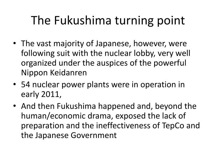 The Fukushima