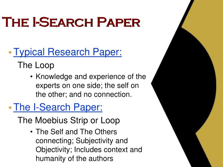 The i search paper1