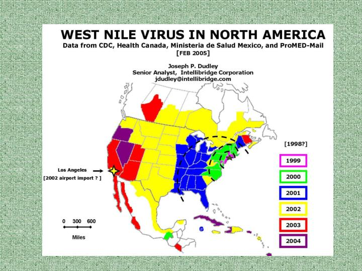West nile virus on the prairies