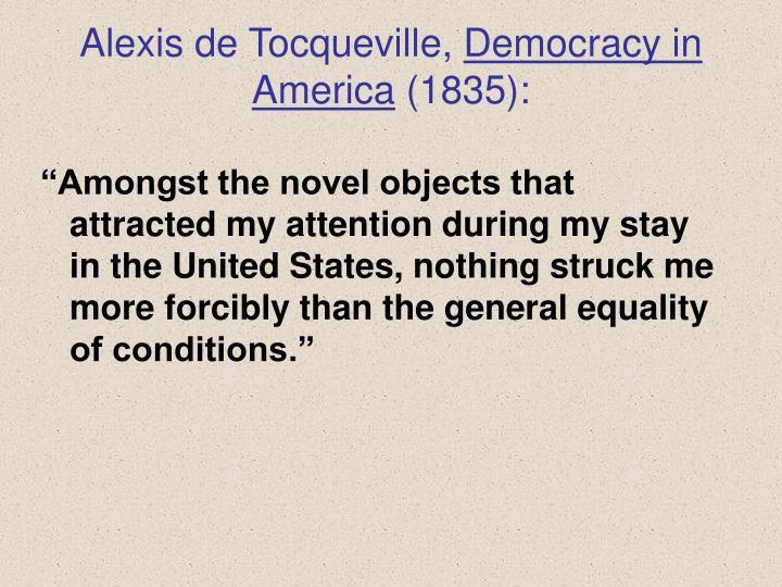 Alexis de Tocqueville,