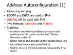 address autoconfiguration 1