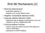 ipv6 nd mechanisms 2