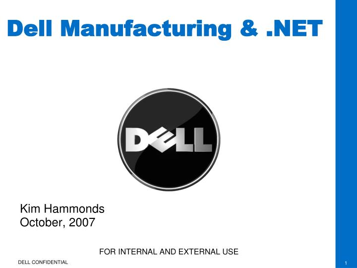 Dell manufacturing net