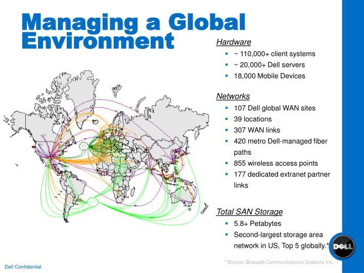 Managing a Global Environment