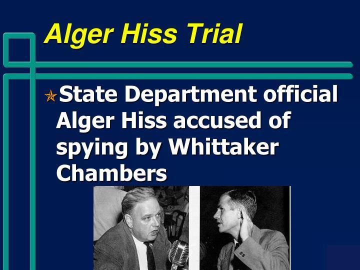 Alger Hiss Trial