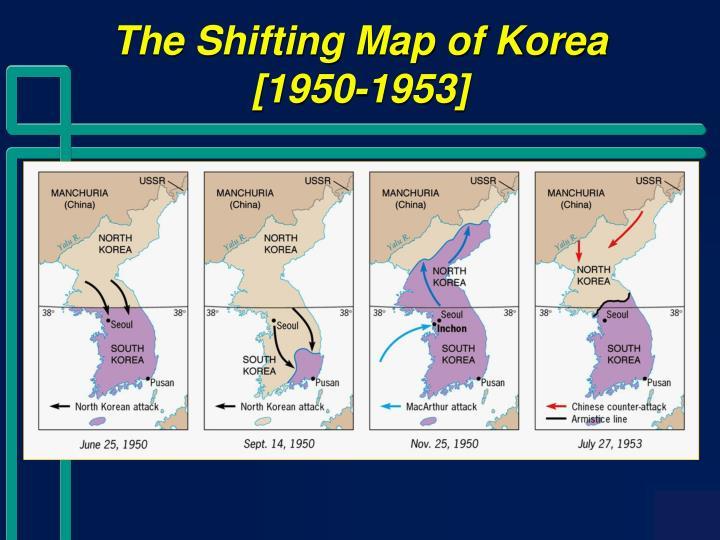 The Shifting Map of Korea