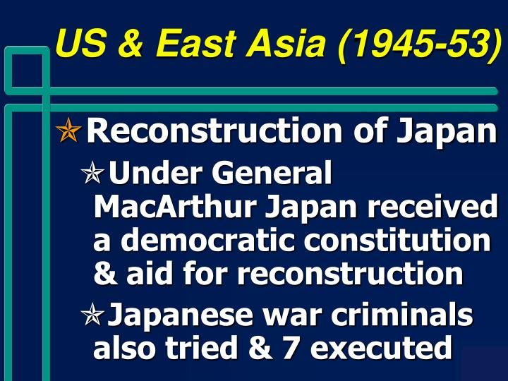 US & East Asia (1945-53)