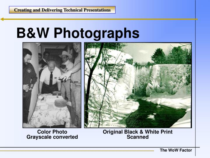 Original Black & White Print