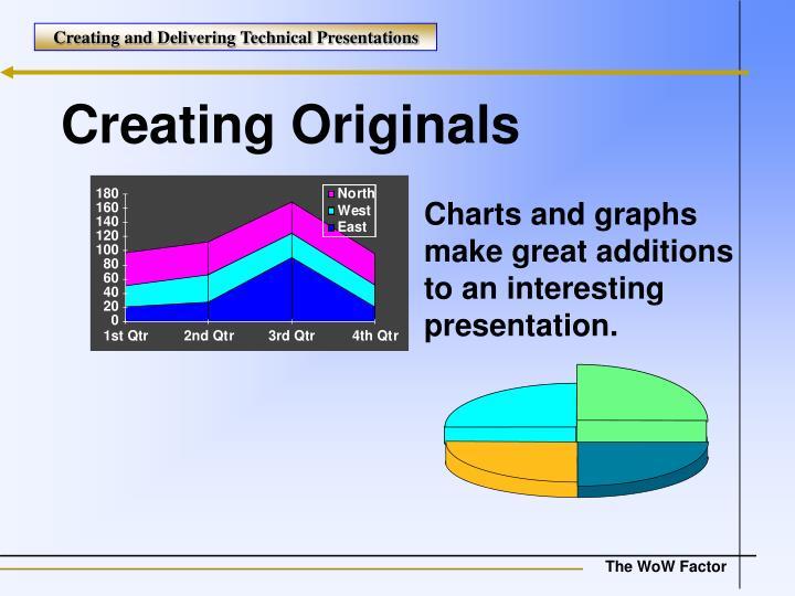 Creating Originals