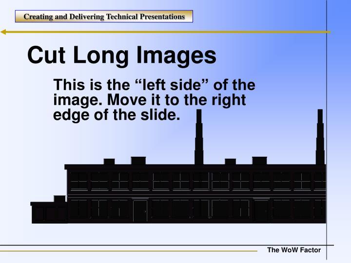 Cut Long Images