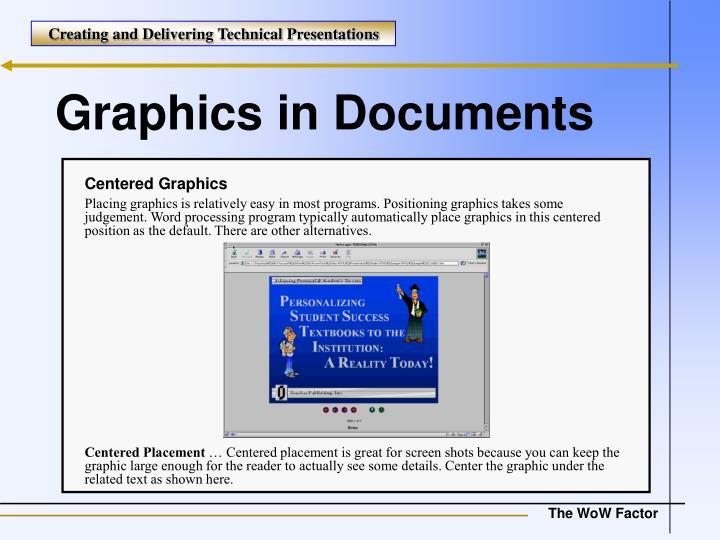 Centered Graphics