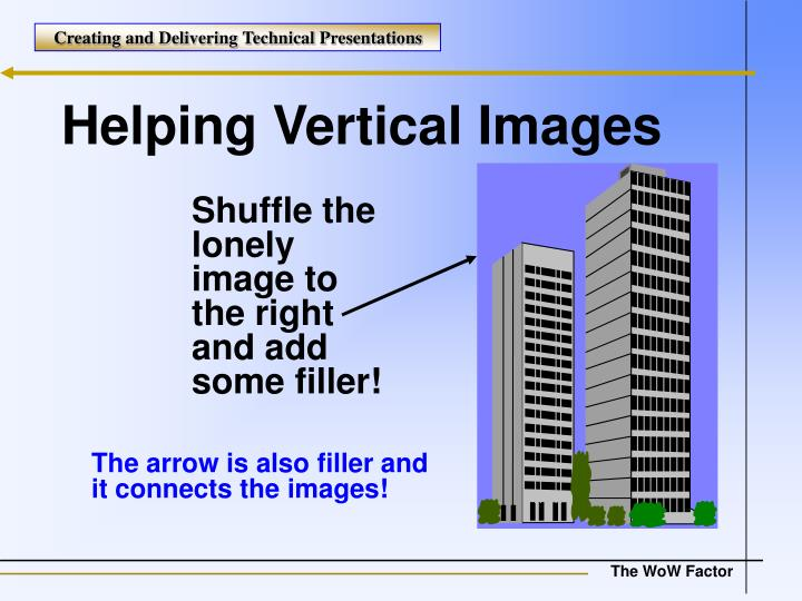 Helping Vertical Images