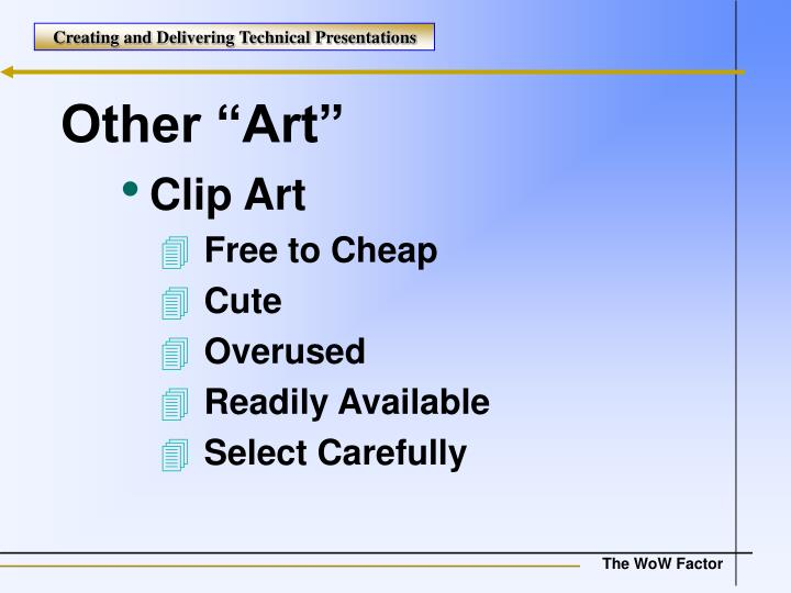 """Other """"Art"""""""