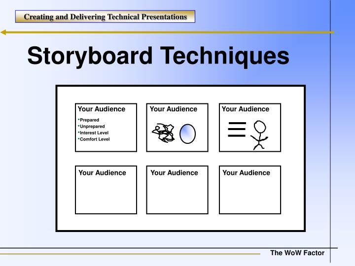 Storyboard Techniques