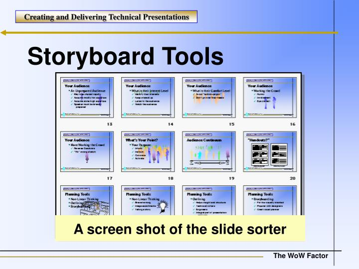 Storyboard Tools