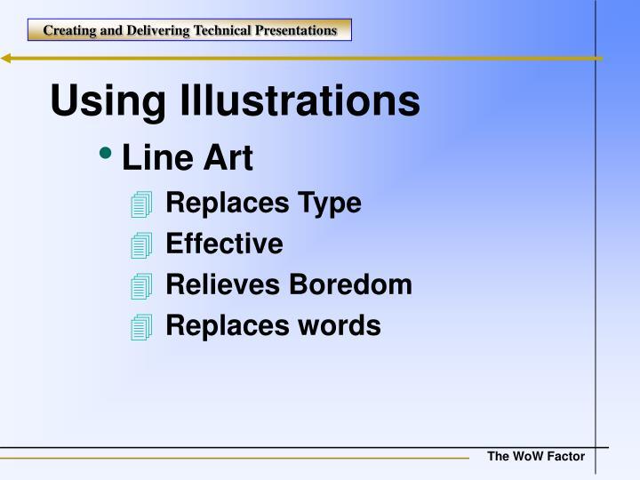 Using Illustrations