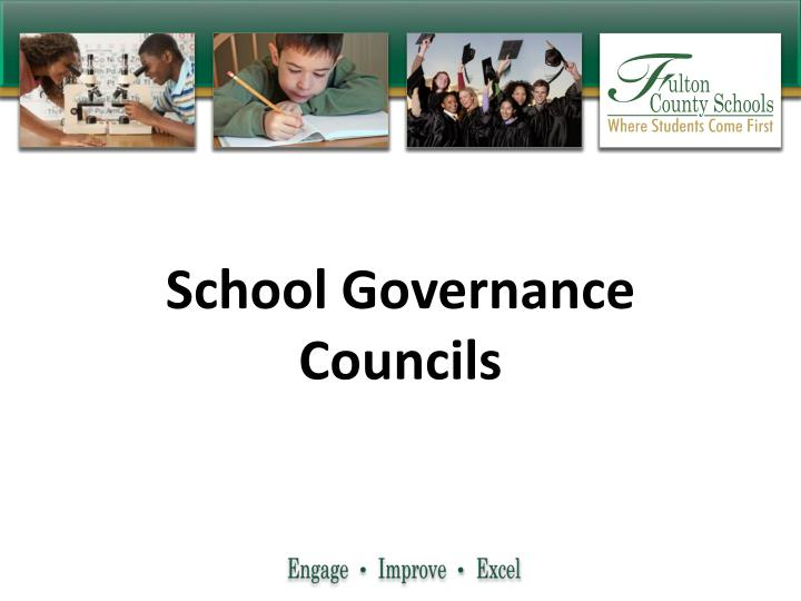 School Governance Councils