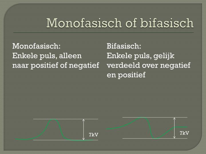 Monofasisch