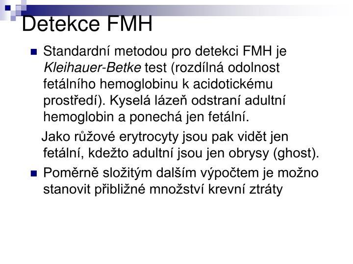 Detekce FMH
