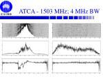 atca 1503 mhz 4 mhz bw