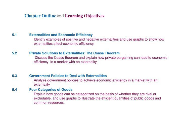 Chapter 5 externalities
