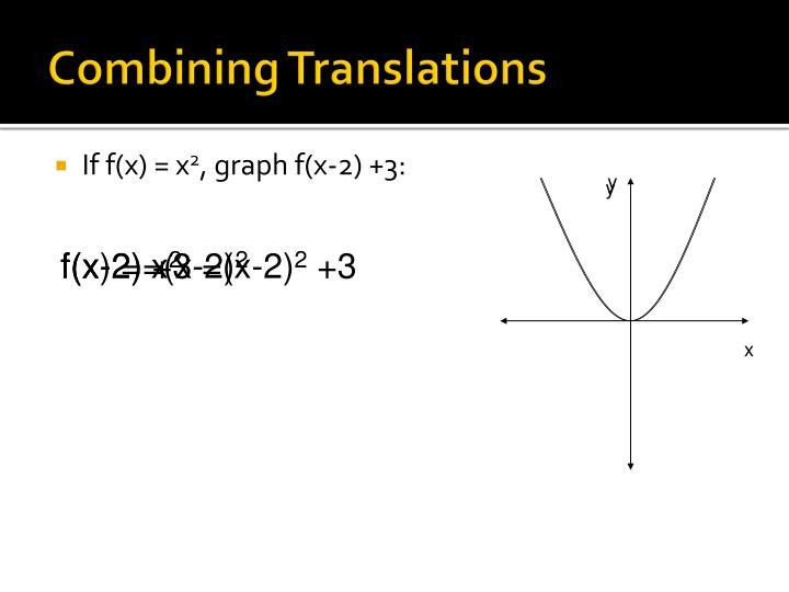 Combining Translations