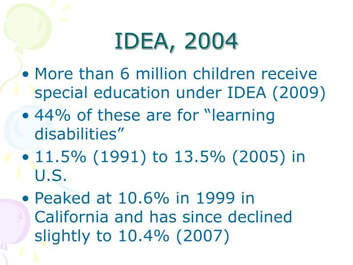 IDEA, 2004