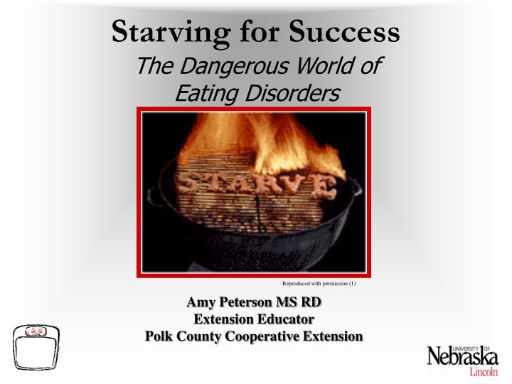 Starving for success the dangerous world of eating disorders