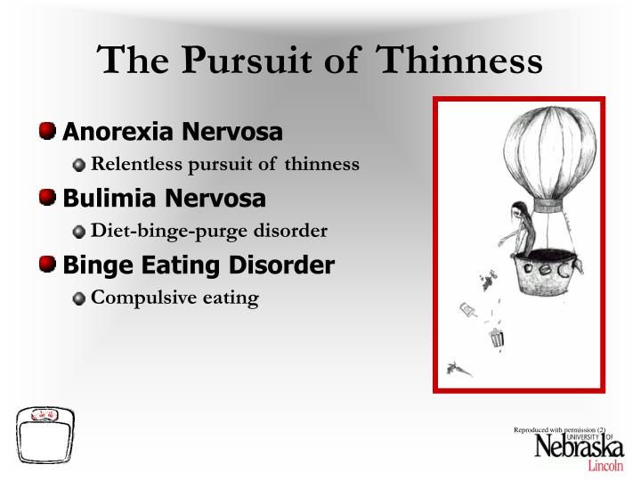 The Pursuit of Thinness