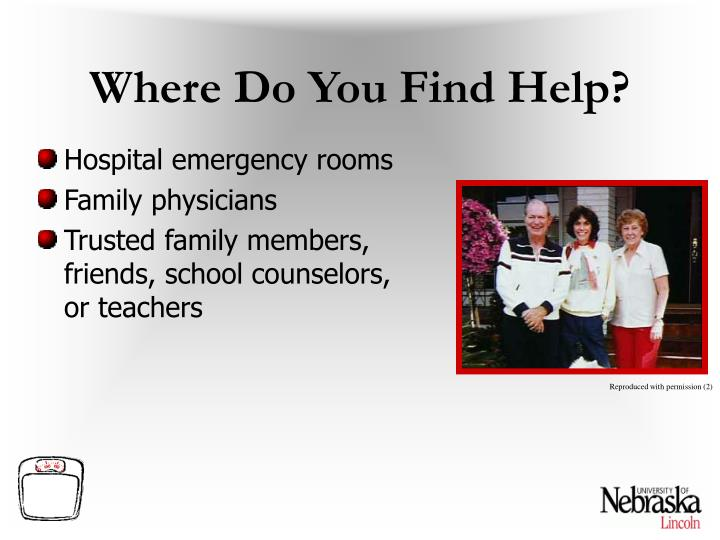 Where Do You Find Help?