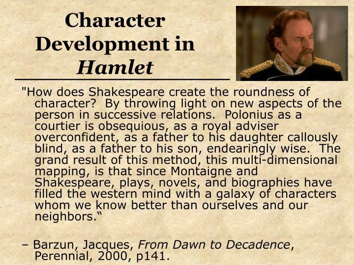Character Development in