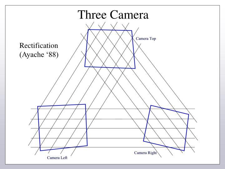 Three Camera