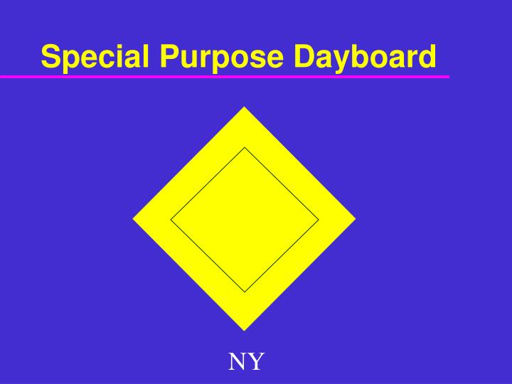 Special Purpose Dayboard