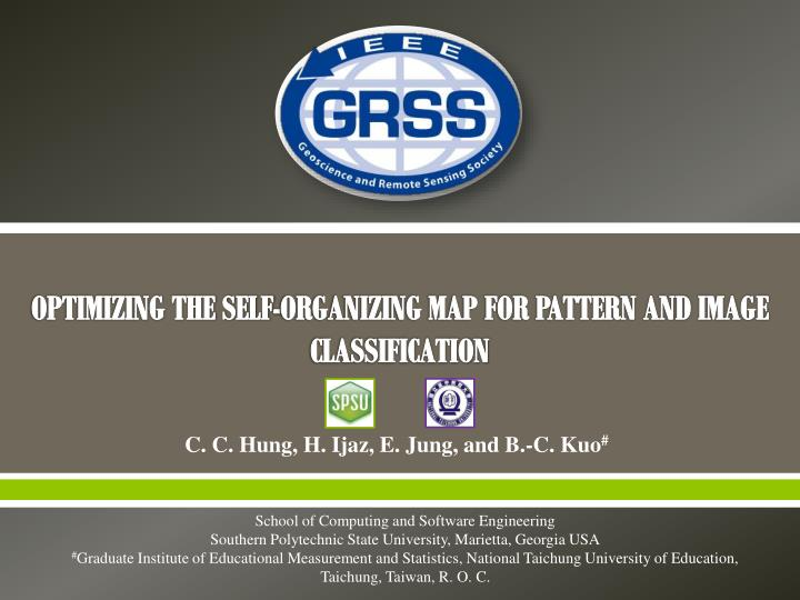 optimizing the self organizing map for pattern and image classification n.