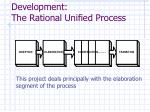 development the rational unified process