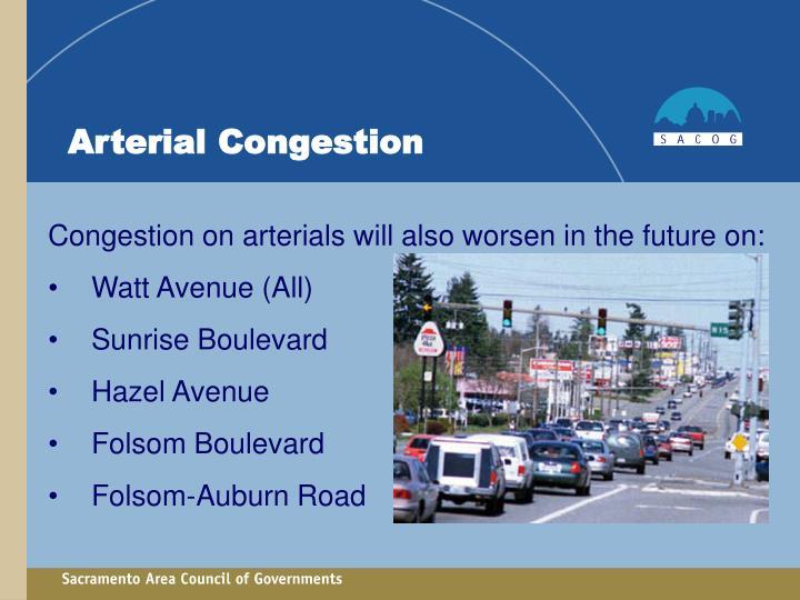 Arterial Congestion