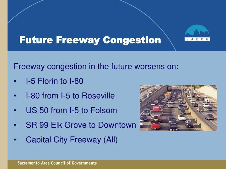 Future Freeway Congestion