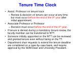 tenure time clock