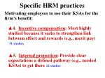 specific hrm practices1