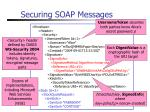 securing soap messages