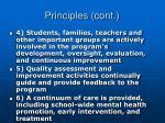 principles cont