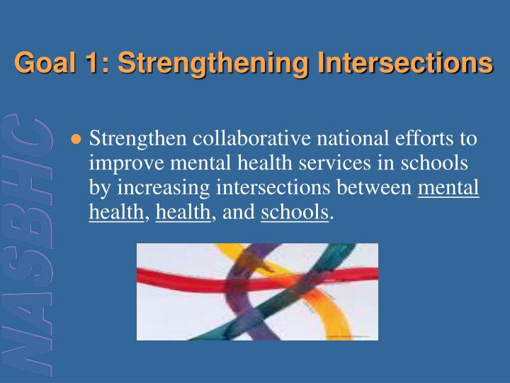 Goal 1 strengthening intersections