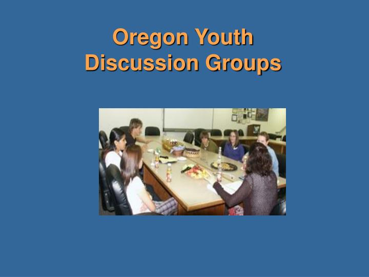 Oregon Youth