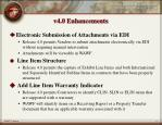 v4 0 enhancements