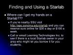 finding and using a starlab
