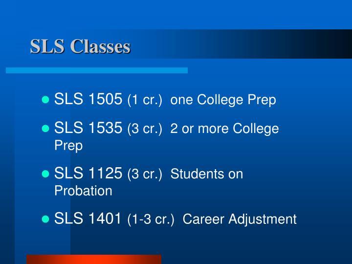 SLS Classes